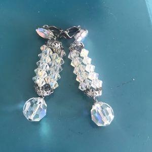Vintage Lewis Segal Designer AB Earrings
